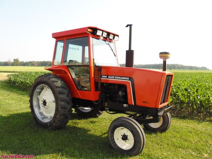 Allis-Chalmers 6080 with two-wheel drive.   Allis Chamers ...