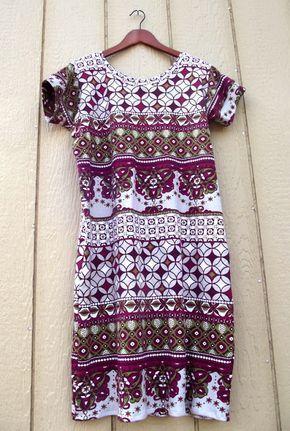 easy shift dress pattern! One pattern in multiple fabrics. Tutorial. My absolute favorite pattern!
