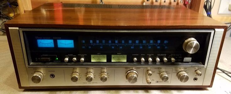 Vintage Sansui Receiver - Model 8080DB Mid-70's - Not in Complete Working Order #Sansui