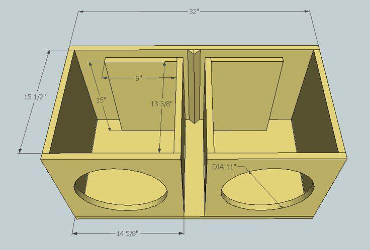 Výsledok vyhľadávania obrázkov pre dopyt subwoofer box design for 12 inch