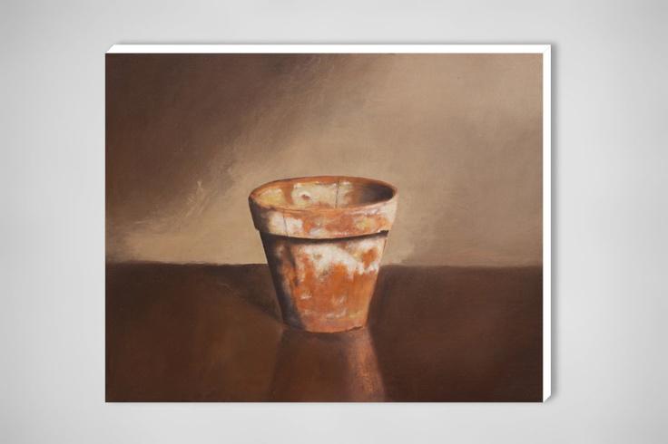 "Egmont Hartwig; Oil, 2010, Painting ""Flowerpot"": Moldy Flowerpot, Saatchi Art, Egmont Hartwig, Oil 2010, 2010 Painting, Art Artists, Painting Flowerpot"