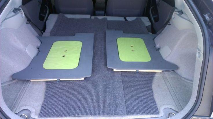 Prius Camping-Custom Fit gen-iii dormindo / Kit De Conversão De Campista por free.us