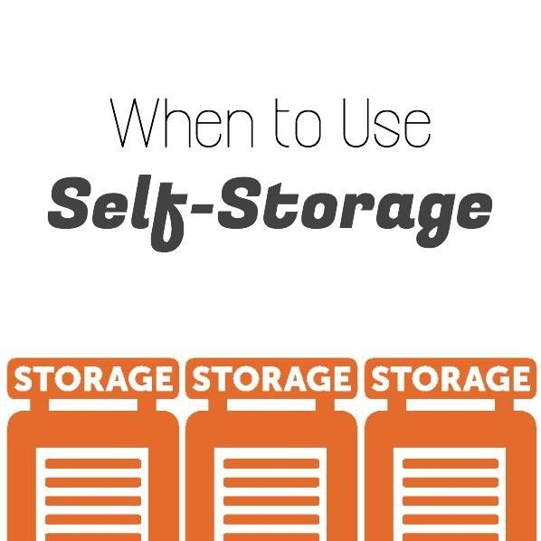 When To Use Self Storage