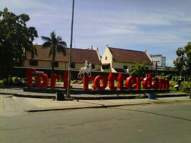Fort Rotterdam (Benteng Ujung Pandang) di Makassar, Sulawesi Selatan