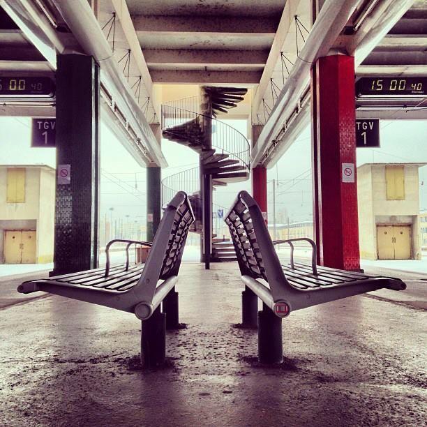 ©Treolivier - Trains et symboles #Train #Gare