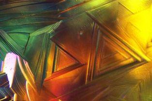 Microscoopfoto van een Diamant