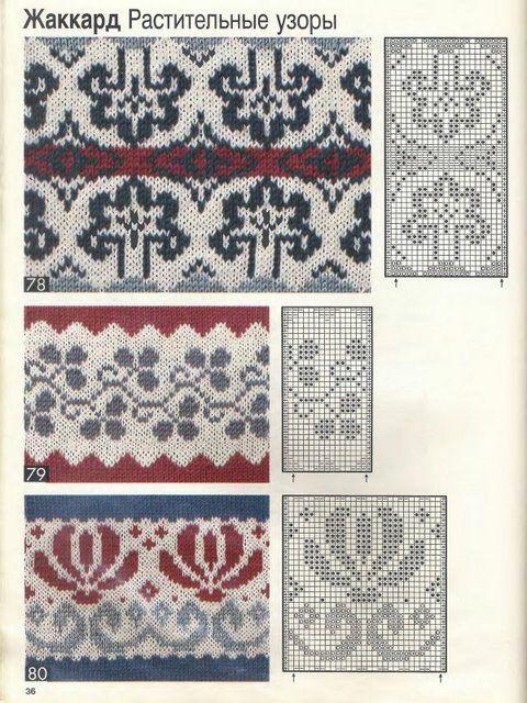 Knitting Jacquard Stitch : 17 Best images about Patterns for knit, jacquard on Pinterest Ravelry, Doub...