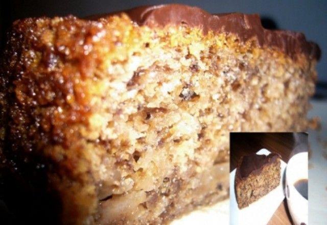 Körtés-diós bögrés süti
