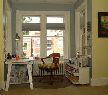 Home Office / Master Bedroom - eclectic - home office - other metro - Nicole Lanteri, On My Agenda LLC