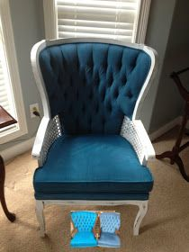 17 Best Images About Spray Paint Fabric Chairs On