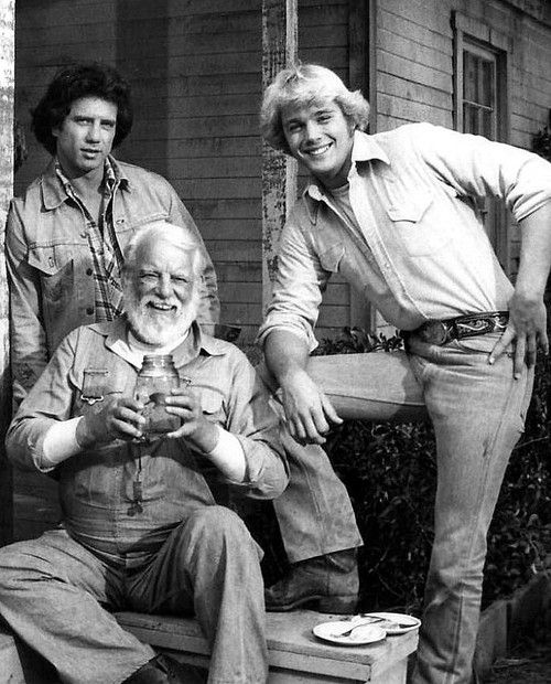 Tom Wopat, Denver Pyle, John Schneider .. Dukes of Hazzard