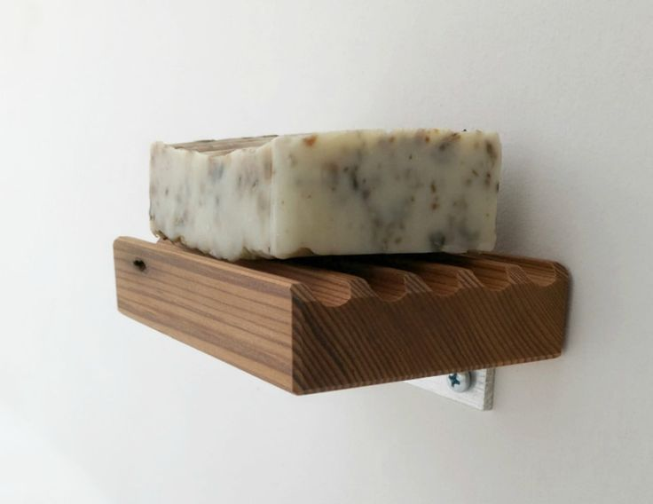 Andrew's Reclaimed - Wooden Soap Dish, Wall Mountable Wood Soap Dish, $29.57 (http://andrewsreclaimed.com/wooden-soap-dish-wall-mountable-wood-soap-dish/)  We turn old wood into cool new things!  Please re-pin if you dig recycling. Andrew's Reclaimed