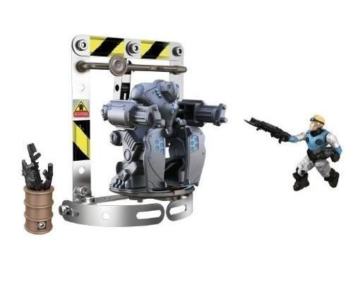 Damon Baird found the Silverback ! Suit up this powerful exoskeleton and prepare for a battle against the Locusts  The construction set includes :• A storage building tools. #toys2learn #construction #meccano #earlylearning