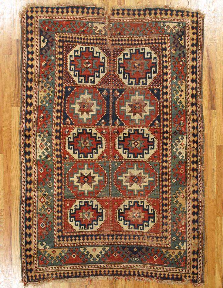Kazak Rug From Southwest Caucasus Age Circa 1850 Size 6 2