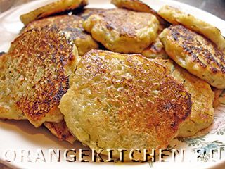 Вегетарианские рецепты с фото: оладьи из кабачков без яиц