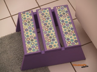 Housewife Eclectic: Tutorial- How to make a cute step stool