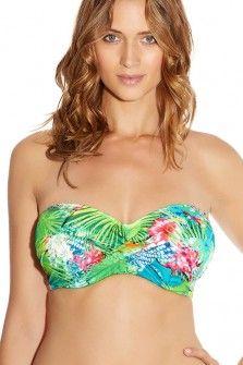 Fantasie Antigua Multi Underwired Twist Bandeau Bikini Top