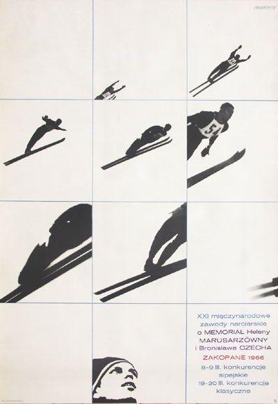 1966 Marek Freudenreich - XXI Miedzynarodowe Zawody Narciarskie / International Ski Competition