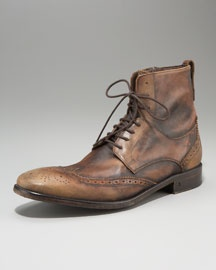 wing-tipped varvatosShoes Fit, Varvatos Wings Tips, Wings Tips Varvatos, Varvatos Wingtip, Boots Ftw, Nice Boots, John Varvatos, Lists, Wings Tips Boots