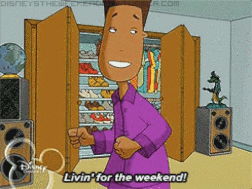 """And most importantly, they respected the fact that Friday, Saturday, and Sunday are the only days that matter. 