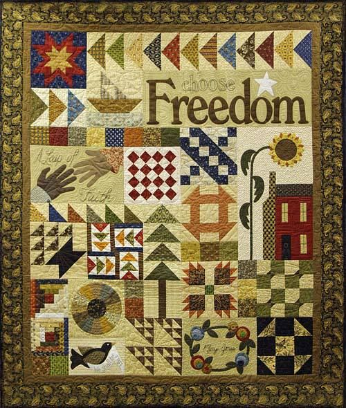 Quilt Patterns Used During The Underground Railroad : 17 Best images about Underground Railroad Quilts on Pinterest Underground railroad, Quilt and ...