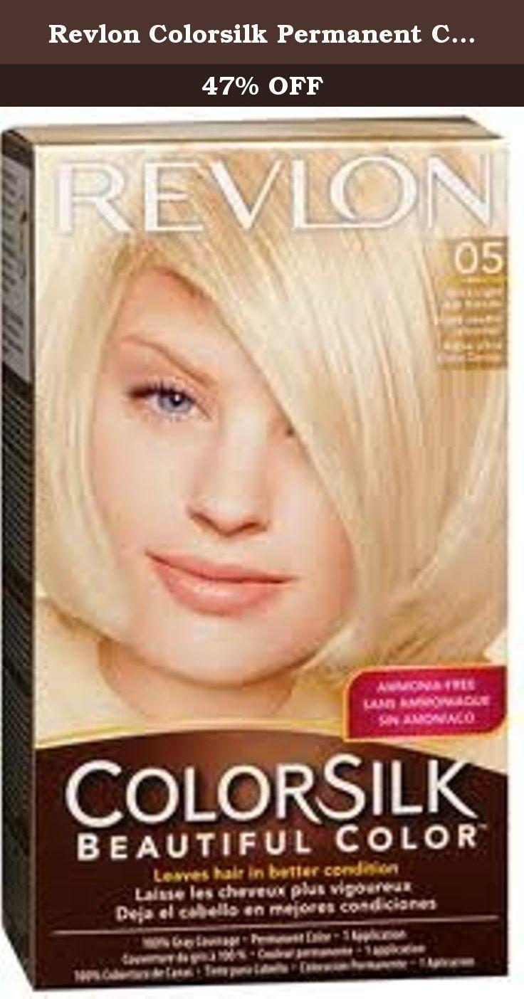 Revlon Colorsilk Permanent Color Ultra Light Ash Blonde 05 By