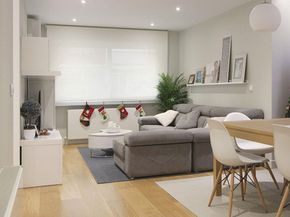 El equipo de R Diseño son los artífices de la acertada reforma de esta moderna casa madrileña que ahora cuenta con más espacio y luz.