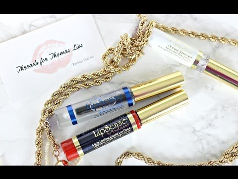 Kissproof Lipstick | LipSense Review: Application Demo & Removal - YouTube