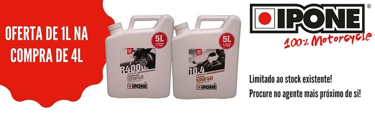 IPONE  #lusomotos #lubrificante #óleo #ipone #campanha