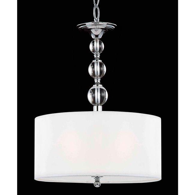 Crystal base pendant chandelier overstock shopping great deals on otis designs chandeliers