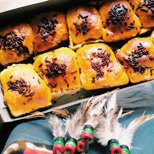 Pisang bollen is a famous puffed pastry fille with riped banana and cheese from Bandung, West Java Province. Pisang bollen is the most popular gift of Bandung, so do not forget to buy it when you visit Bandung.