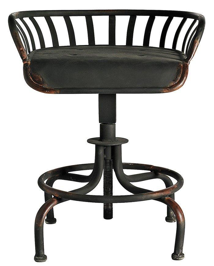 Nordal TRACTOR stol, justerbar, produceret i jern