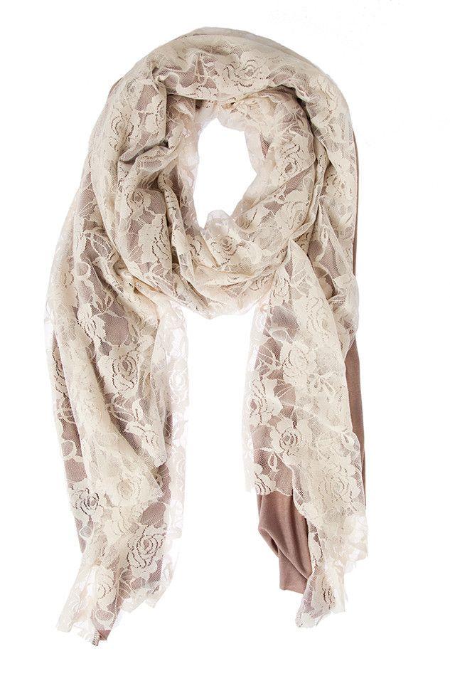 Jersey and Lace Wrap. ash & dans.