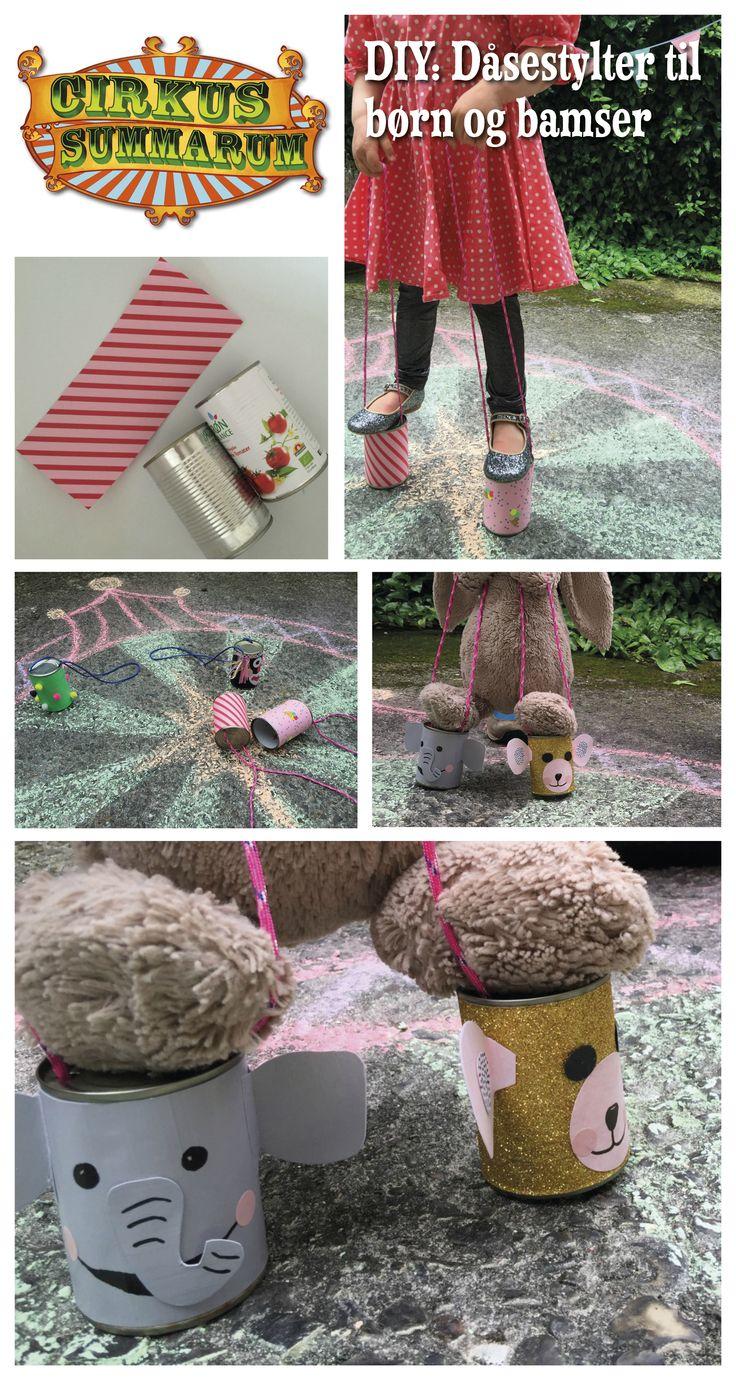 DIY dine egne dåsestylter til børn og bamser :-) Læs mere på www.cirkussummarum.dk DIY'en er lavet af dygtige @LeizyB