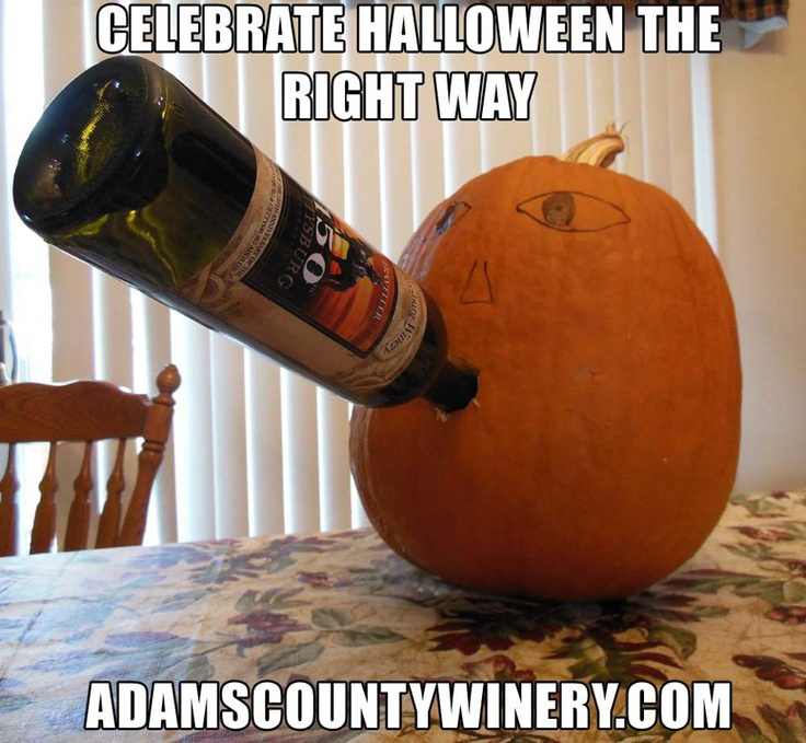 79 Best Images About Wine O On Pinterest: The Best Way To Celebrate Halloween...WINE!