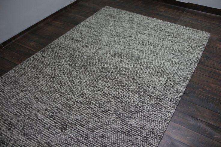 Filcowe wełniane kulki ręcznie tkany nowoczesny designerski dywan Loop 150x245cm
