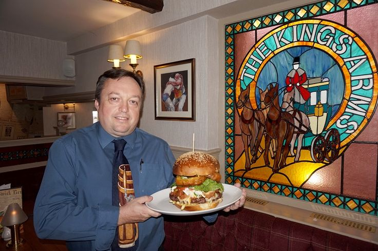 Keswick hotel celebrates National Burger Day with the town's biggest burger http://www.cumbriacrack.com/wp-content/uploads/2016/08/Burger-Fit-for-A-King-1-800x532.jpg To celebrate National Burger Day, on Saturday 27th August, the Kings Arms Hotel in Keswick has come up with an epic chef's special, fit for a King    http://www.cumbriacrack.com/2016/08/22/keswick-hotel-celebrates-national-burger-day-towns-biggest-burger/
