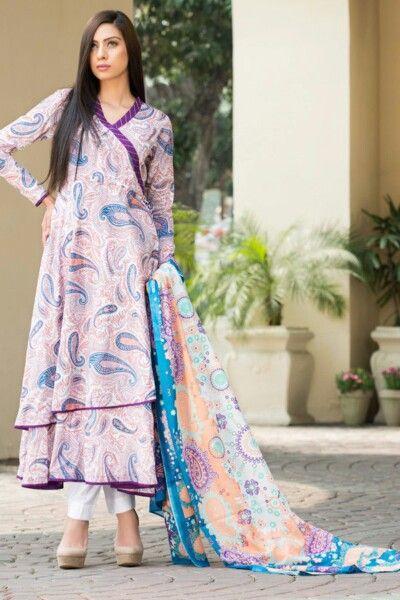 Pregnancy wear Pakistan loose wrap lawn linen shirt.