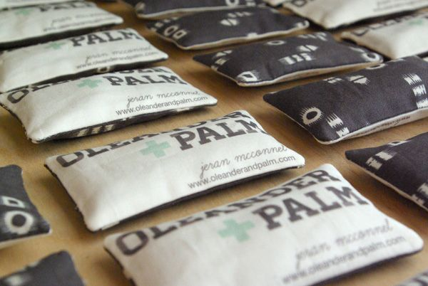 Lavender Sachet Business Cards...I will scent mine with Chai, Rosemary & Lemon, and Spicy Ginger cookie scents....