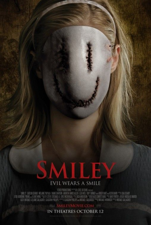 HORROR MOVIE POSTER – SMILEY