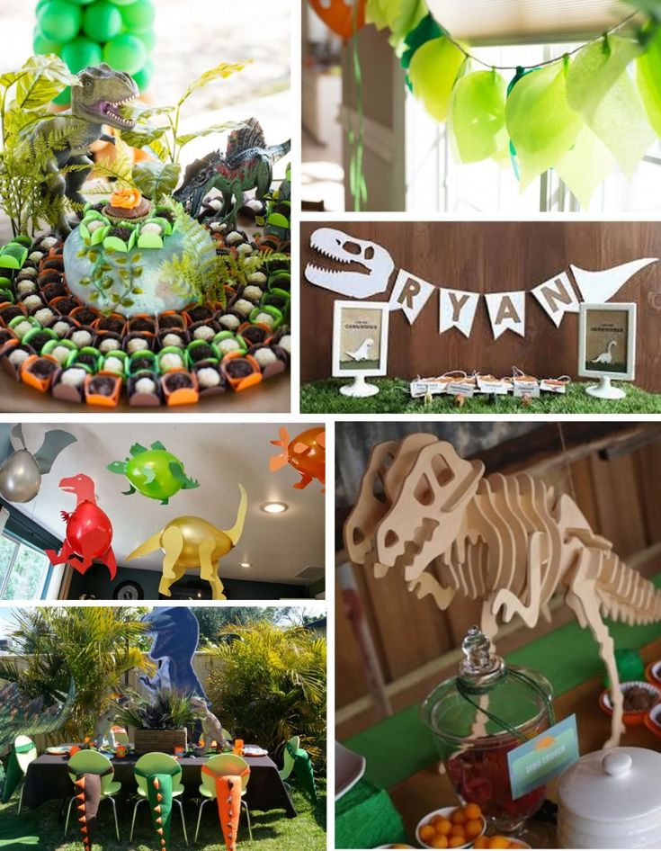 Festa a tema Jurassic World Dinosauri party