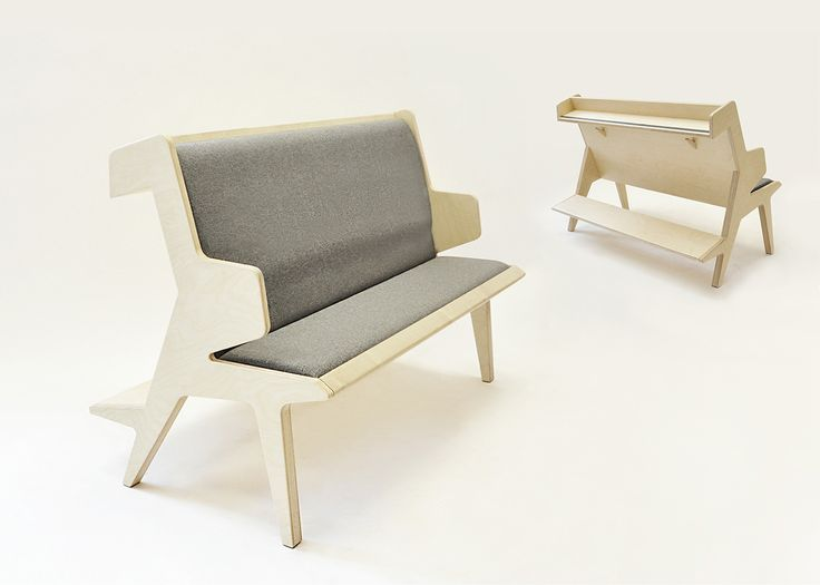 Church Bench on Behance