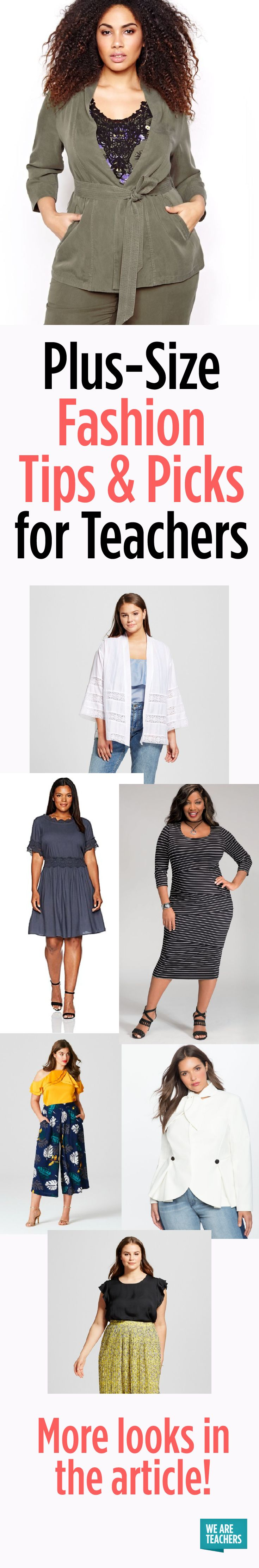 Plus-Size Fashion Tips and Picks for Teachers  The Curvy Fashionista, Marie Denee, shares with her plus size teacher fashion picks for in the classroom and outside of it!