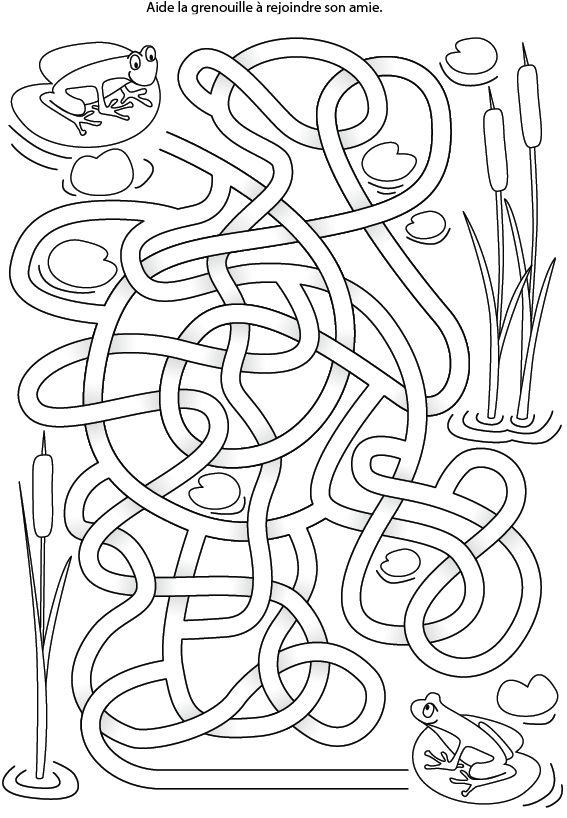 Les 40 meilleures images du tableau chemin labyrinthe sur - Labyrinthe dessin ...