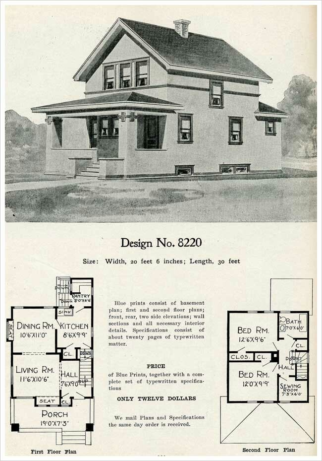 30 best images about old school home designs on pinterest for House plans 1900