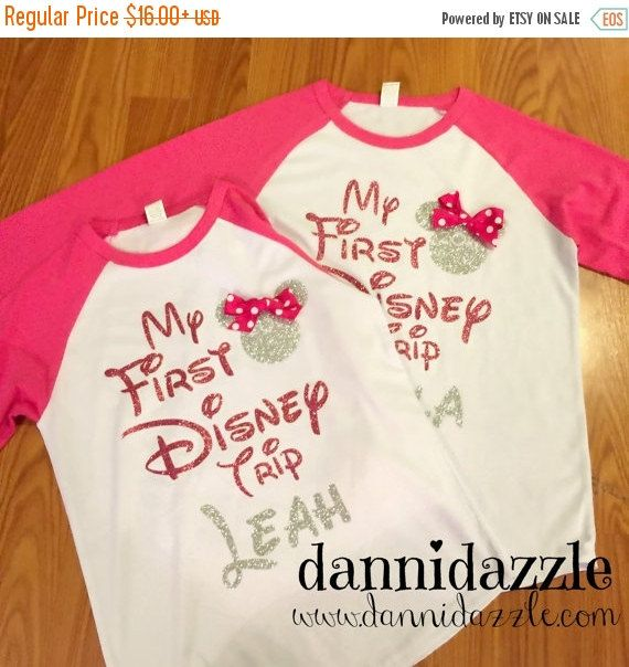 My First Disney Trip Shirt/Family Disney by DanniDazzle on Etsy