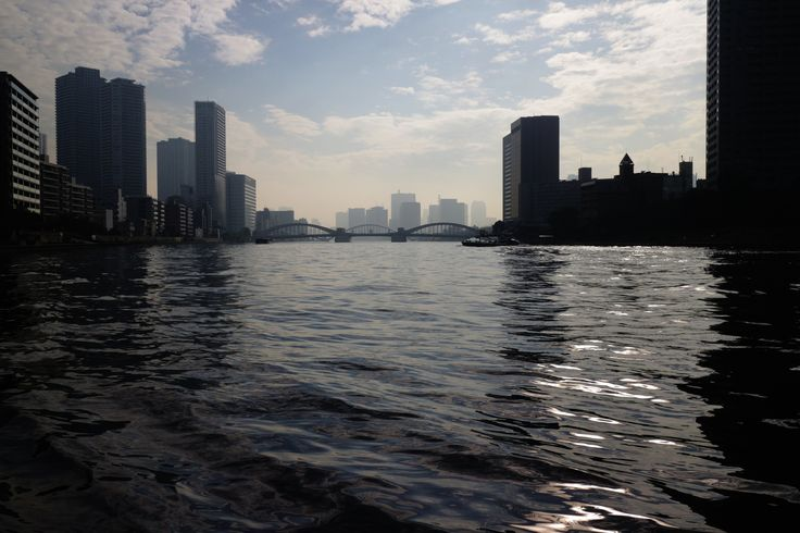 https://flic.kr/p/YJ6u1u | river-side walks | from Tsukudajima island to Kachidokibashi iron bridge. #01