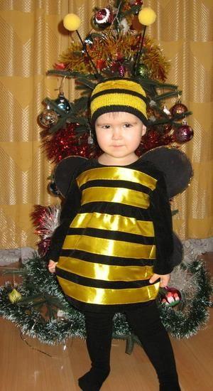 Костюм пчела для детей выкройки