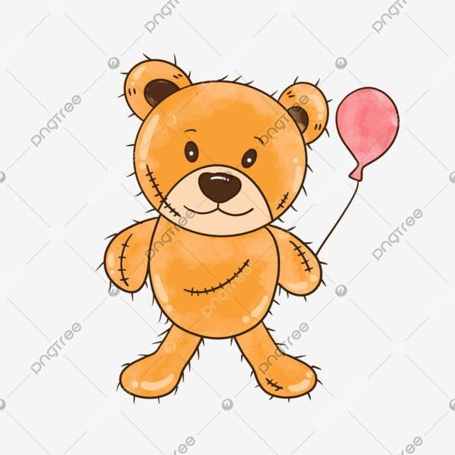 Cartoon Hand Drawn Brown Teddy Bear Balloon Illustration Bear Clipart Teddy Bear Cartoon Png Transparent Clipart Image And Psd File For Free Download Cartoon Hands Drawing Balloon Illustration Brown Teddy Bear