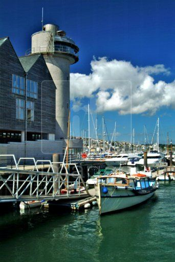 The National Maritime Museum, Falmouth, cornwall, UK.
